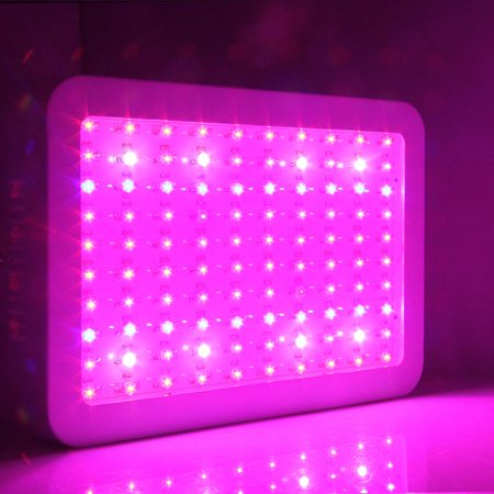 Ktaxon 1000W Double Chips LED Grow Light Full Specturm for Medical Greenhouse and Indoor Plant Veg Bloom Flowering Growing (10w