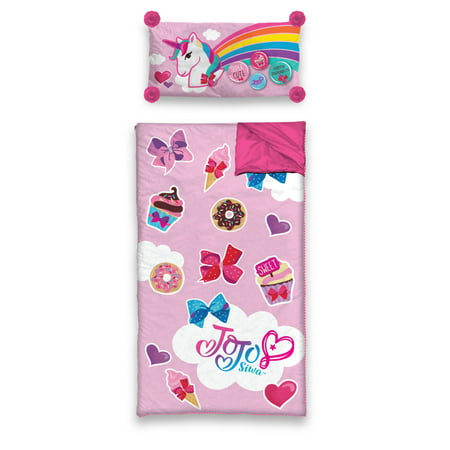 JoJo Siwa Slumber Sleeping Bag with BONUS Pillow](Sleeping Bag Pillow)