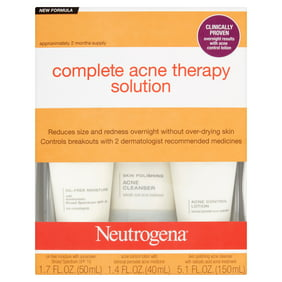 Acnefree Oil Free 24 Hr Acne Treatment Kit 3 Step Acne Clearing