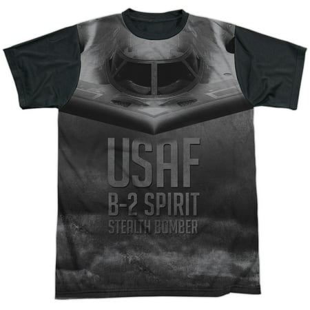 United States Air Force USAF B-2 Spirit Stealth Bomber Adult Black Back