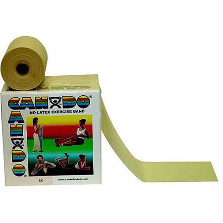 - CanDo Latex Free Exercise Fitness Band Roll - 50 Yard
