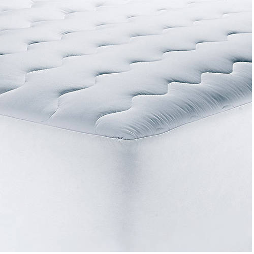 Mainstays 200TC Pillow Top Mattress Pad in Multiple Sizes Walmartcom