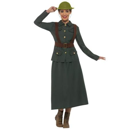 WW2 Army Warden Lady Adult Costume