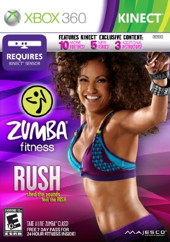 Zumba Fitness Rush Xbox 360 by Majesco