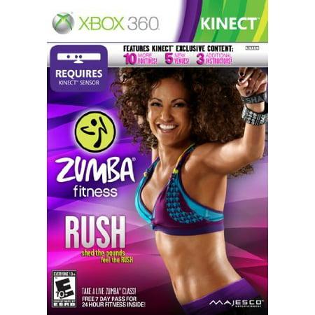 Zumba Fitness Rush - Xbox 360 (Best Fitness Xbox 360)