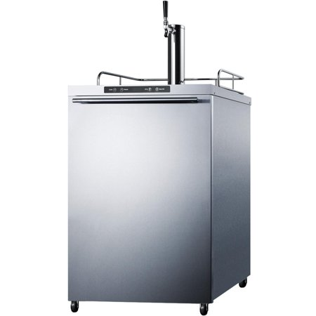 Summit SBC635MOS7HH 5.6 cu. ft. Freestanding Commercial Outdoor Beer Dispenser - Stainless (Best Rated Refrigerators 2019)