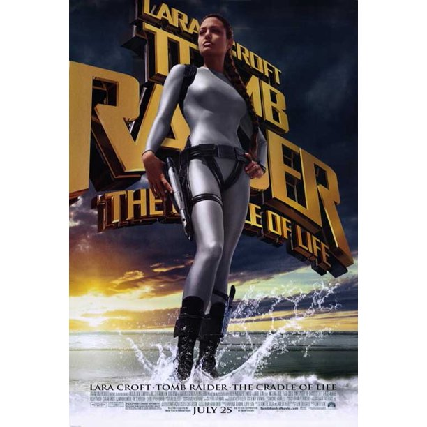 Lara Croft Tomb Raider The Cradle Of Life Movie Poster Style A