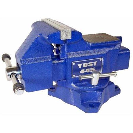 Combination Bench Vise - Yost Vises 445 4.5