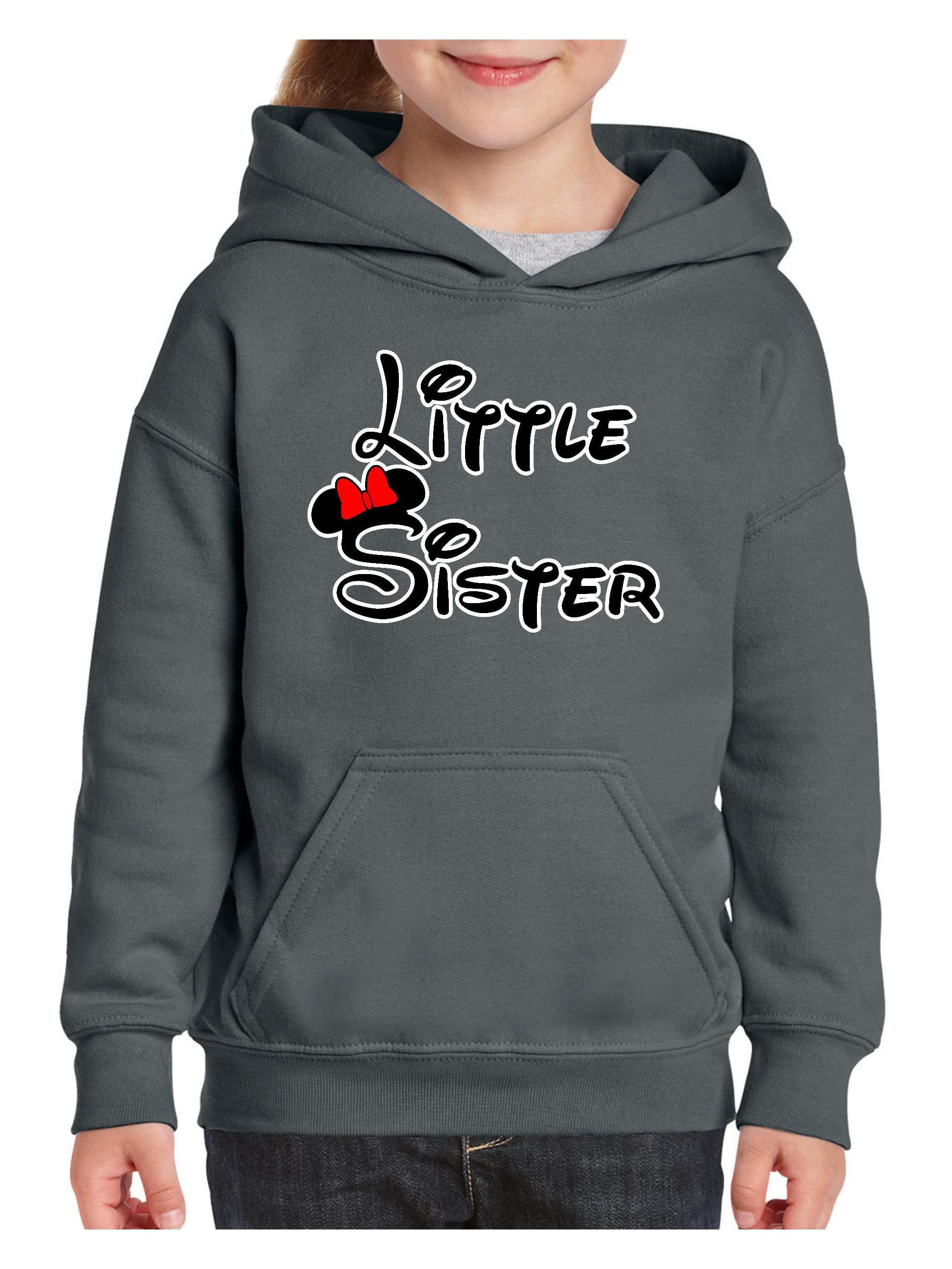 Cartoon Girl Little Sister Youth Hoodie Hooded Sweatshirt