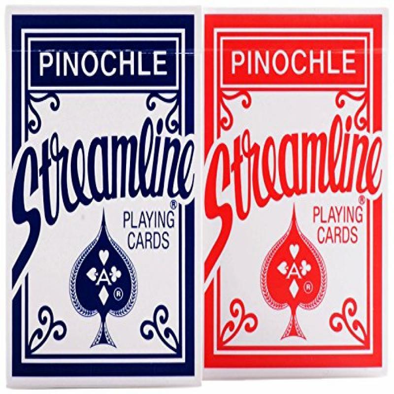 Streamline Pinochle Playing Cards, 12 Decks of Pinochle, ...