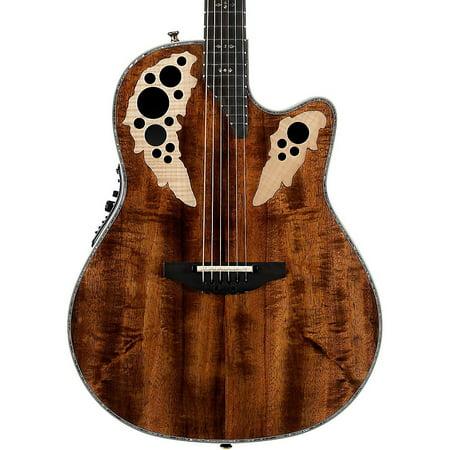 Ovation Elite Plus Contour Acoustic Guitar (Koa) - Walmart.com