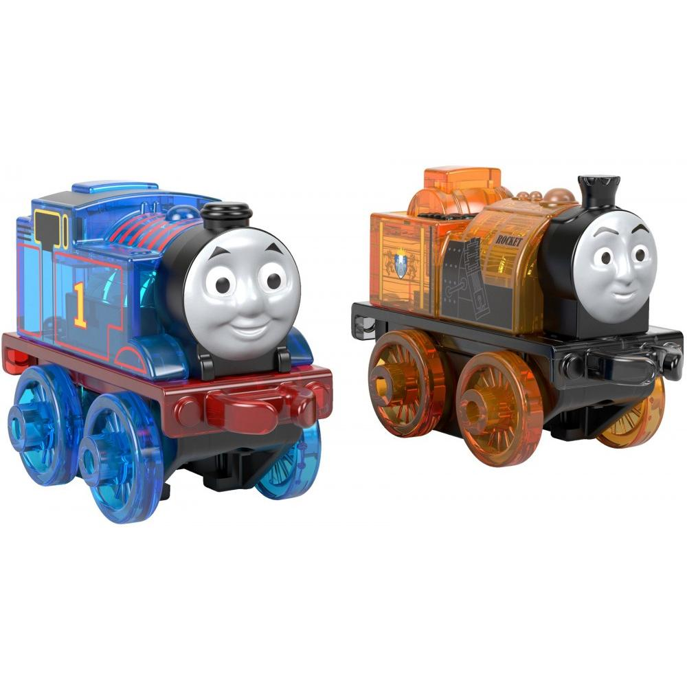 Thomas & Friends MINIS Light-ups 2-Pack Thomas and Stephen by Fisher-Price