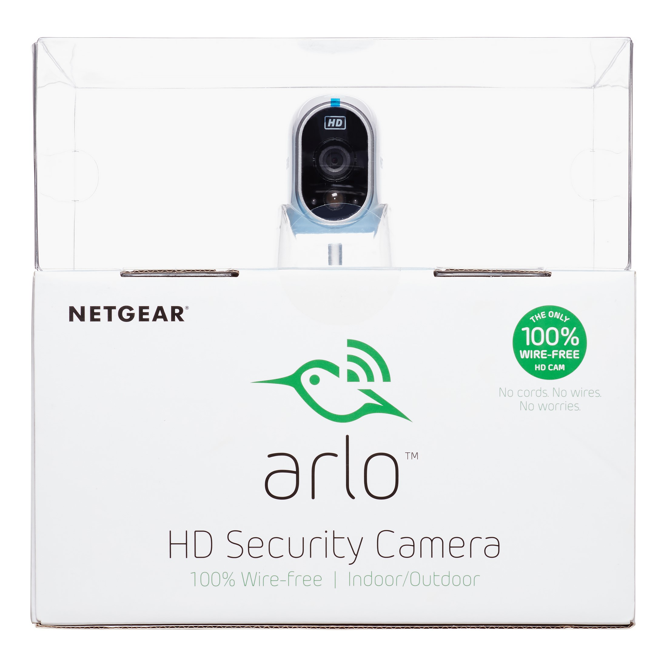 Arlo HD Security Camera 1 HD Camera Security System, 100% Wire-Free,  Indoor/Outdoor with Night Vision VMS3130-100NAS by NETGEAR - Walmart.com