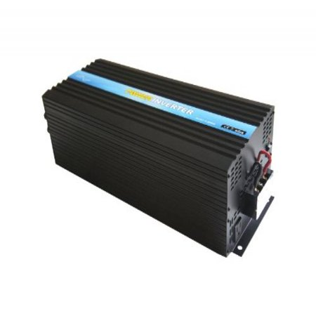 Control Pure Sine Wave Output - Nimble NR5000 Pure Sine Wave Off-grid Inverter with Remote Control, Solar Inverter 5000 Watt 12 Volt DC To 110 Volt AC (12VDC)