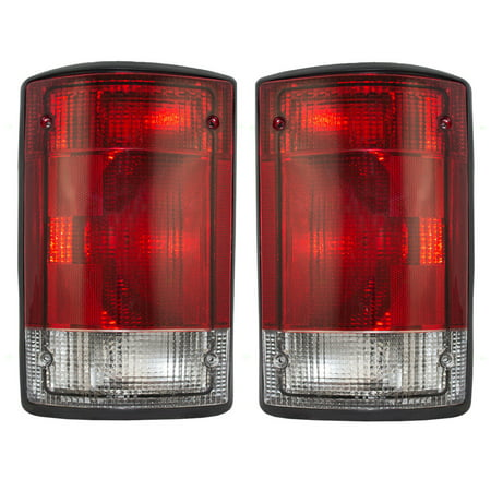 NEW PAIR OF TAIL LIGHTS FIT FORD EXCURSION 2004-2005 FO2800190 5C2Z 13405 AA 5C2Z13405AA 5C2Z-13404-AA 5C2Z-13405-AA FO2801190 5C2Z 13404 AA 5C2Z13404AA