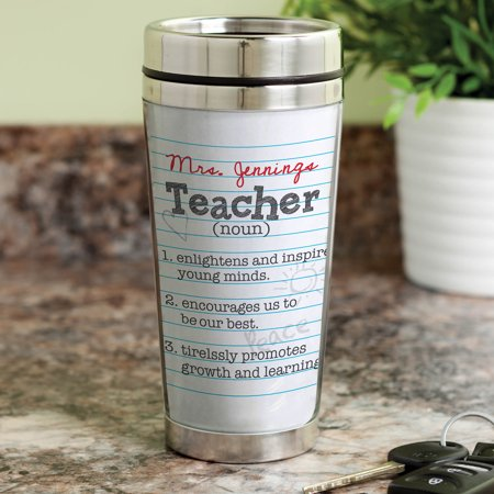 Teacher Definition Personalized Travel Mug