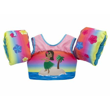 Body Glove Paddle Pals Child Swim Vest Onesize Hula Girl