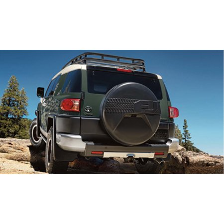 Genuine Toyota FJ Cruiser 2007-2014 Spare Tire Cover with Camera Cut Out PT218-35090