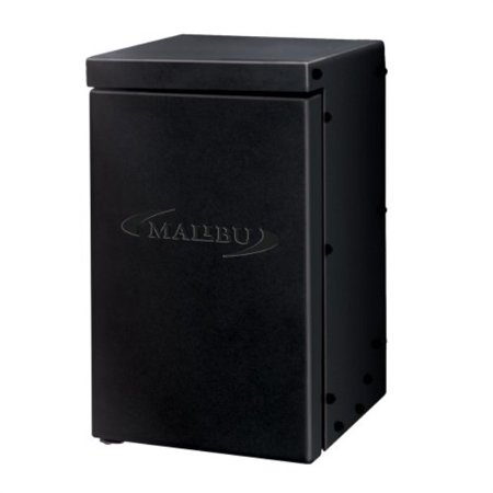 Malibu 200 Watt Power Pack with Sensor and Weather Shield for Low Voltage Landscape Lighting Spotlight Outdoor Transformer 120V Input 12V Output 8100-0200-01.