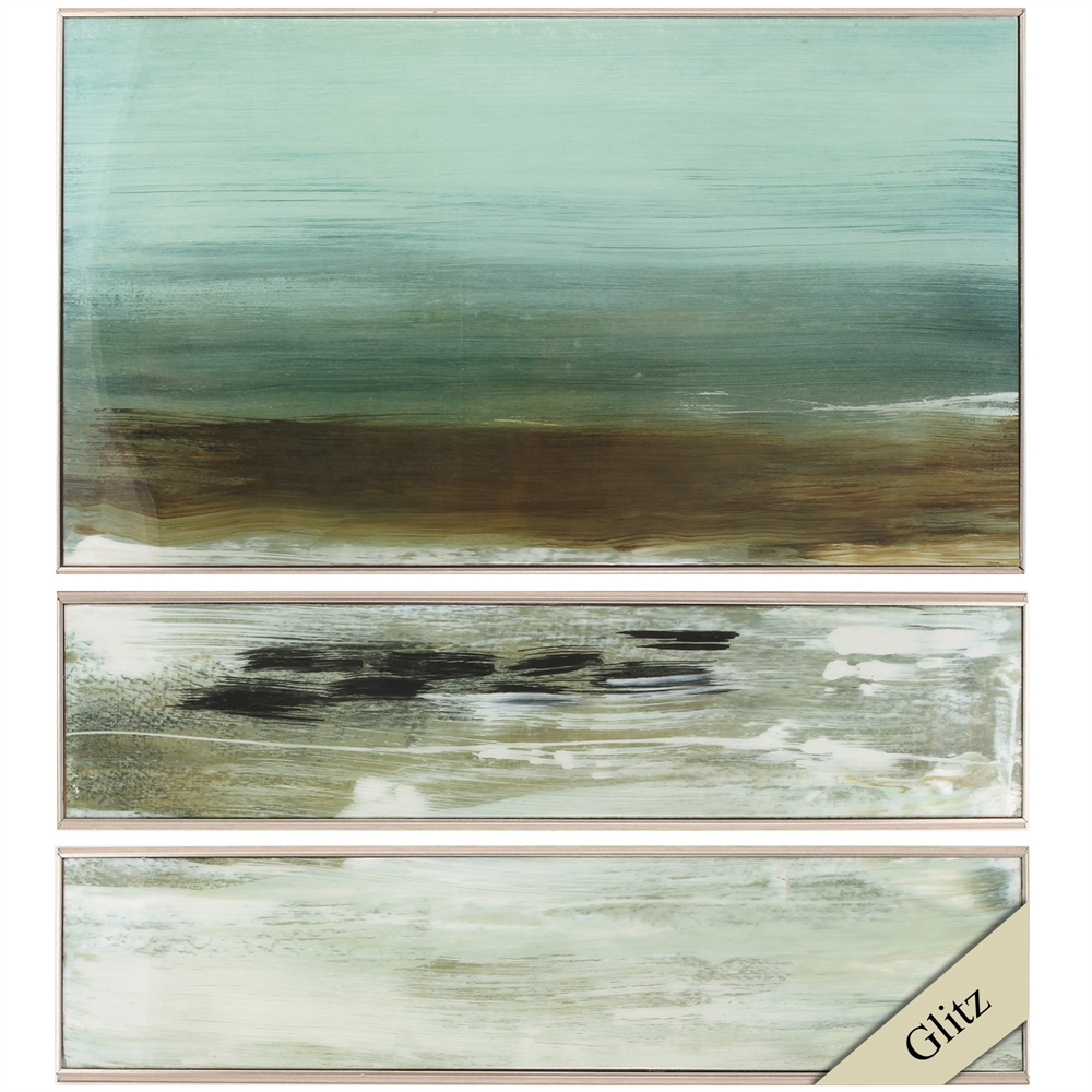 Propac Images 4785 Beach Horizon, Pack of 3