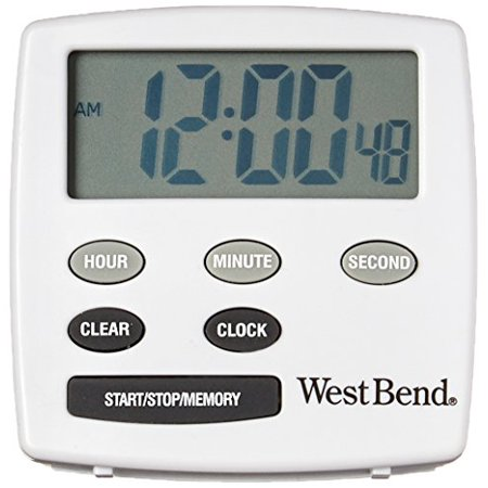 West Bend Timer - West Bend 40055 Timer, White