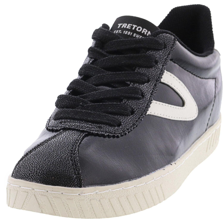 Vintage White Ankle-High Sneaker - 4.5