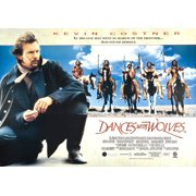 """Dances With Wolves - Movie Poster / Print (US Horizontal Regular Style) (Size: 38"""" x 27"""")"""