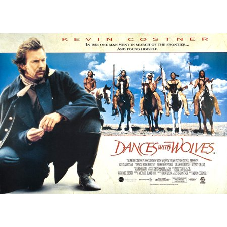 Dances With Wolves - Movie Poster / Print (US Horizontal Regular Style) (Size: 38