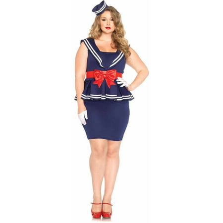 Leg Avenue Plus Size 4-Piece Aye Aye Amy Adult Halloween Costume (Amazing Amy Halloween)