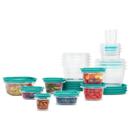 Rubbermaid Press & Lock Storage Containers, 42-Piece Set Now $19.99 (Was $40)