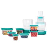 Deals on Rubbermaid Press & Lock Food Storage Containers 42-Pcs Set