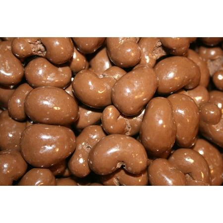 BAYSIDE CANDY MILK CHOCOLATE CASHEWS, 1LB