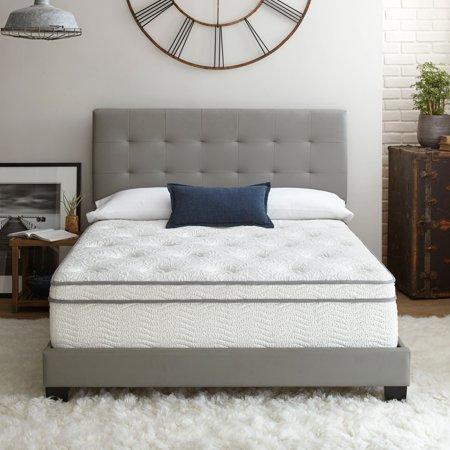"Contura Flex 14"" Plush Pillow Top Cooling Air Flow Gel Foam and Innerspring Hybrid Mattress Bed, Multiple Sizes"