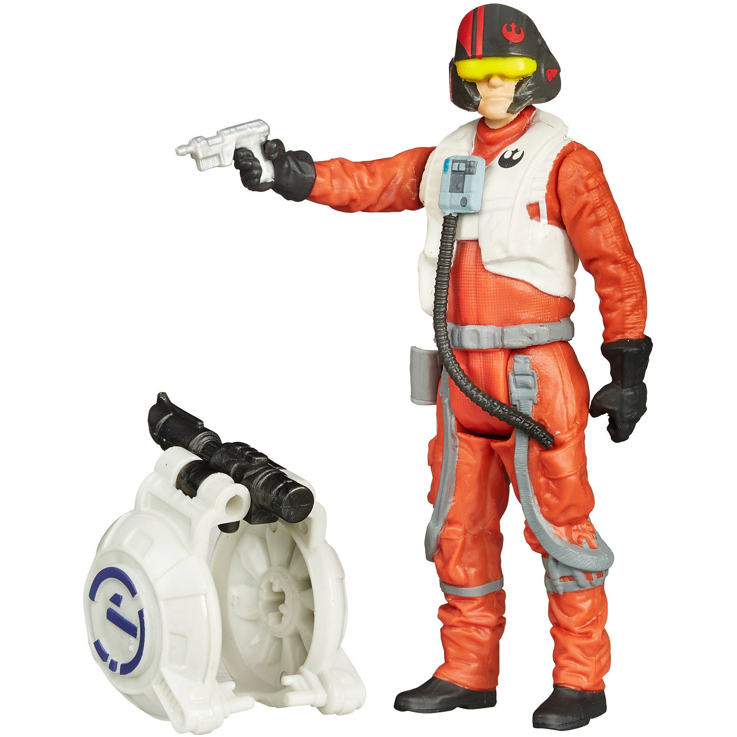 """Star Wars The Force Awakens 3.75"""" Figure Space Mission Poe Dameron by Hasbro"""