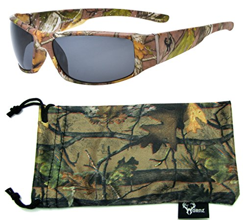Hornz His /& Her/'s Polarized Camouflage Sunglasses Outdoor Camo for Men /& Women