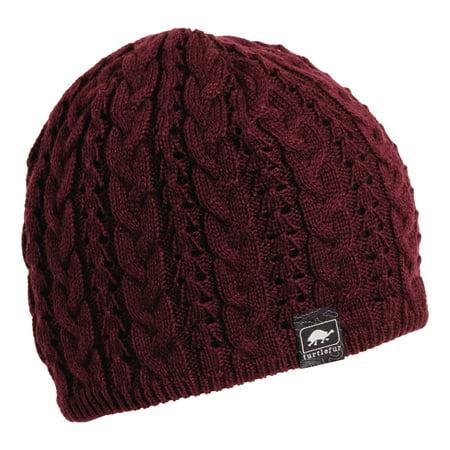 Turtle Fur Zelda Women's Fleece Lined Knit Winter Hat ()