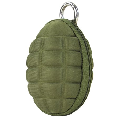 Condor #221043 Grenade Style Key Chain Coin Pouch - OD Green