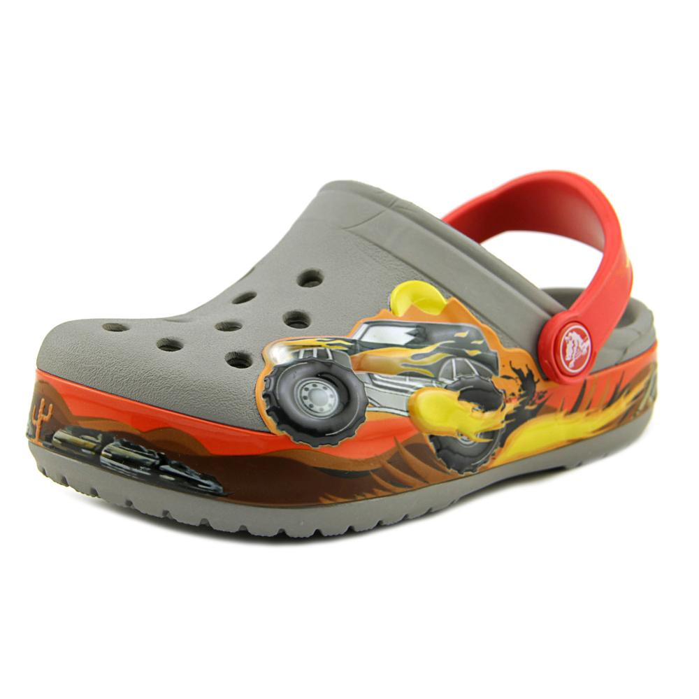 Crocs Crocband Monster Truck Round Toe Synthetic Clogs by Crocs