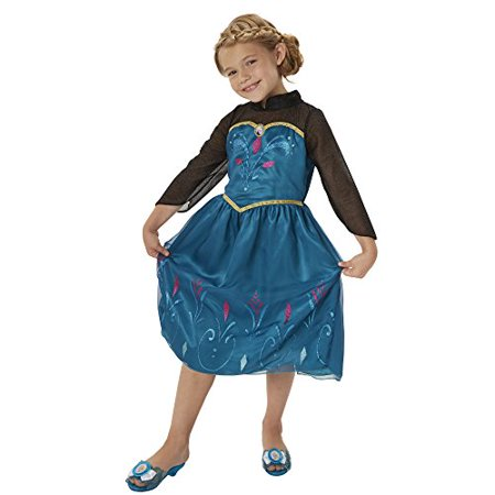 Disney Frozen Elsa Coronation Dress Children Kid Costume - Size 4-6x