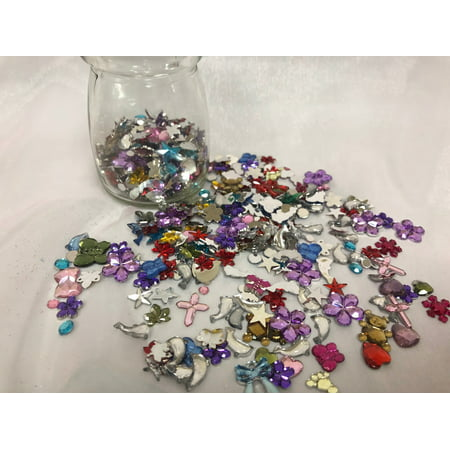 Wholesale Lot more than 2,000 piece bag flat back rhinestone mix; Craft and Jewelry making, repairing](Jewelry Making Games)