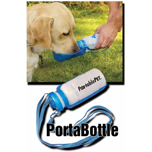 Heininger Holdings LLC PortablePet PortaBottle Travel Sport Bottle and Dish