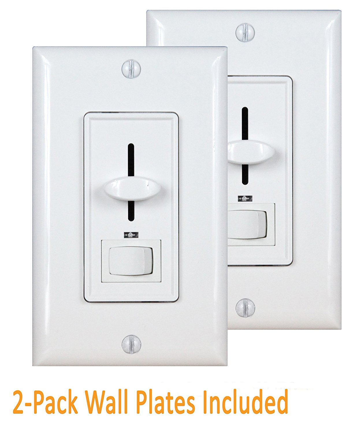 Enerlites 50321-W 3-Way Dimmer Switch for Dimmable Incandescent   Halogen 700-Watts by Enerlites
