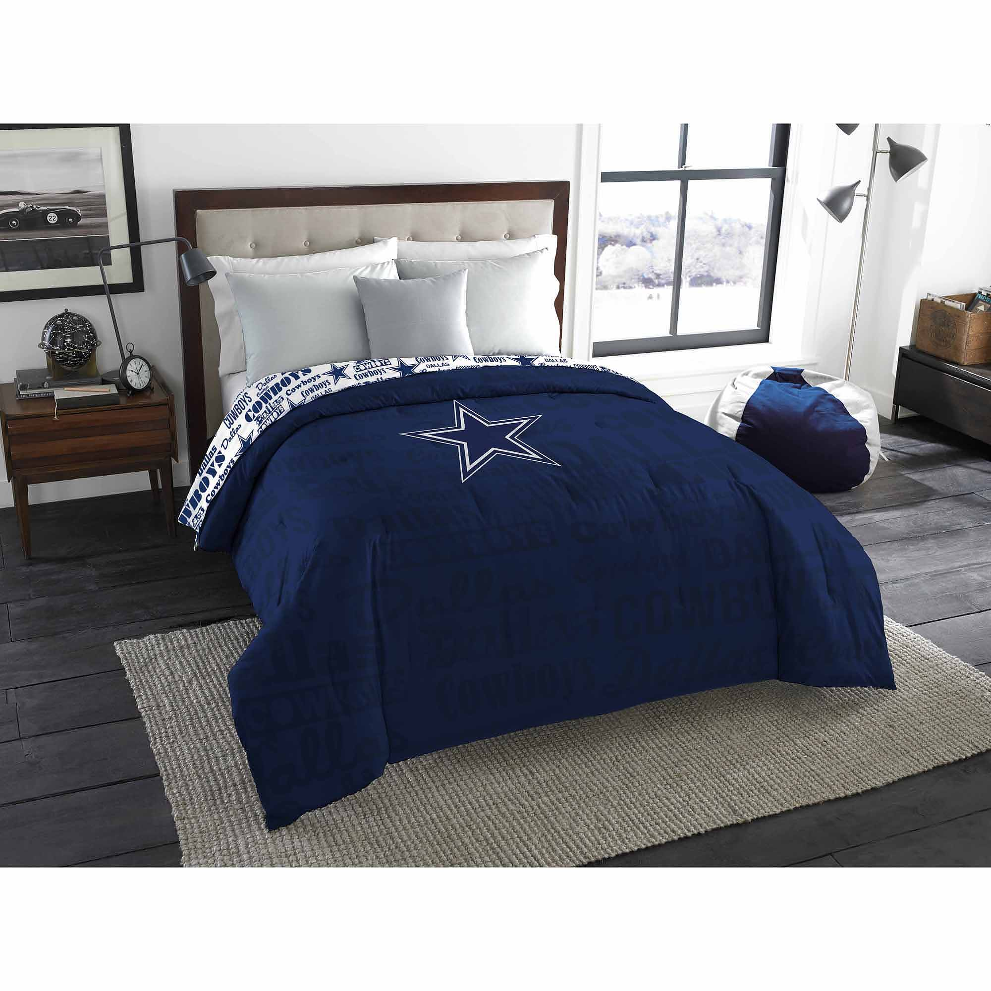 NFL Dallas Cowboys Twin/Full Bedding Comforter