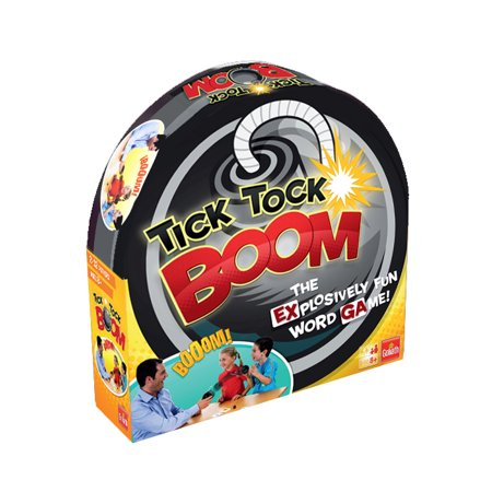 Goliath Games Tick Tock Boom Kids Game for Ages 8 and (Tick Tock Sharks)