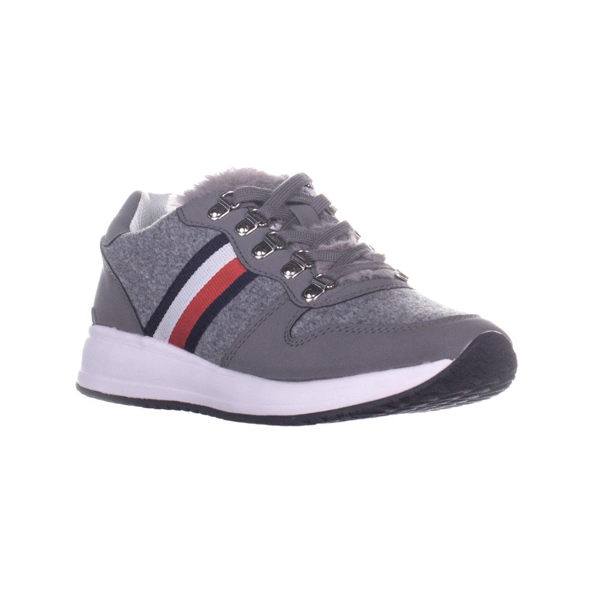 aa85b2b8 Tommy Hilfiger Riplee Lace Up Sneakers, Light Gray | Walmart Canada