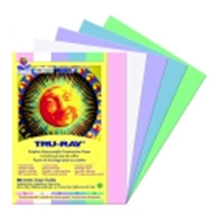 Acid Free Construction Paper - Tru-Ray Pacon 100 Percent Vat Dyed Sulphite Acid Free Construction Paper - 9 x 12 in. - Pack 50