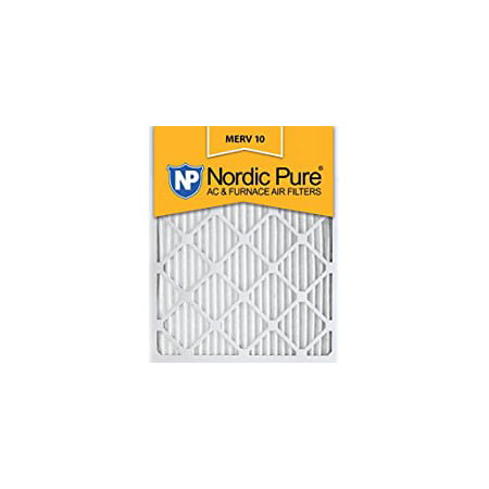Nordic Pure 20x20x5 Honeywell Replacement Pleated MERV 10 Air Filters Qty 1