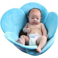 0-3T Newborn Baby Toddler Bathtub Baby Boys Girls Foldable Soft Flower Petal Shape Bathtub Pad Support Cushion Mat