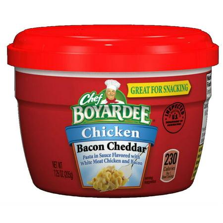 Chef Boyardee En Bacon Cheddar Pasta Microwave Cup 7 25 Oz