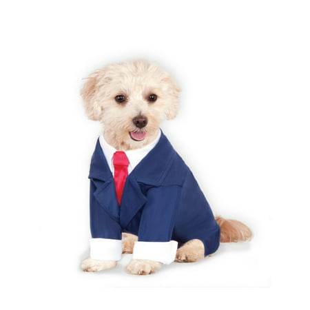 Halloween Business Suit Pet Costume (Boutique Costumes)